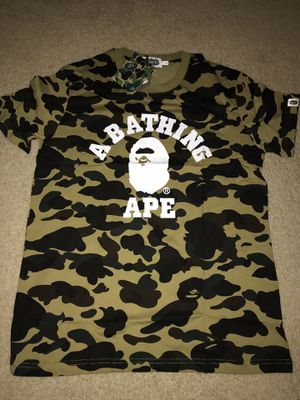 BAPE camo shirt for Sale in High Point, NC