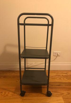 3 shelf rolling cart for Sale in Des Plaines, IL