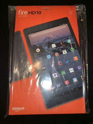 Amazon fire HD 10 tablet for Sale in Houston, TX