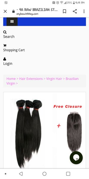 Raw bundles for Sale in Columbia, MO