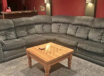 Sectional Sofa with Sleeper and Matching Rocker-Recliner for Sale in Allen,  TX