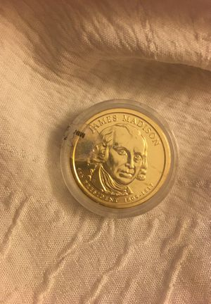 James Madison (1809-1817) gold 1 dollar coin for Sale in Waynesboro, VA