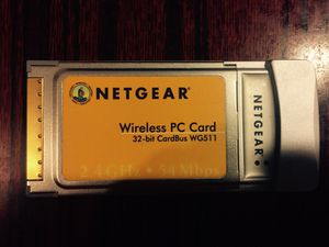 Netgear Linksys Wireless Notebook Adapter for Sale in San Francisco, CA