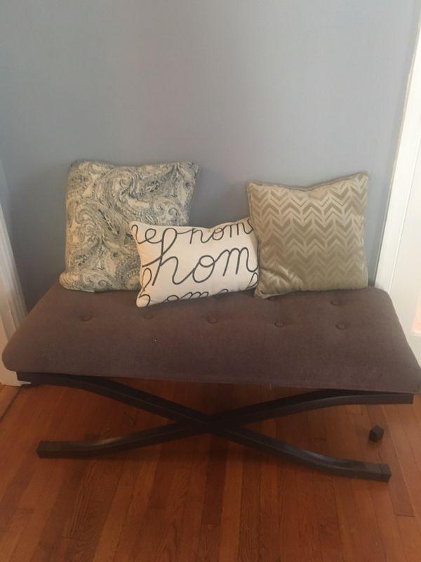 Furniture ottoman bench