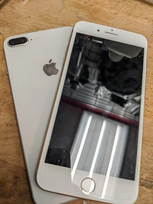 iPhone 8+ 64 GB Unlocked Store Warranty excellent condition for Sale in Winter Hill, MA