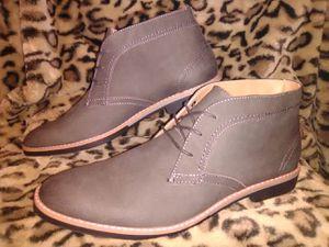 Hawker Rye Size 11.5 Men's Gray Chukka Dress Shoes for Sale in Seattle, WA