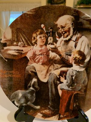 Norman Rockwell 1977- 1 st in edition. Toy Maker! Limited edition / closed! for Sale in Tampa, FL