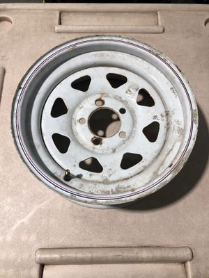"16"" 5 lug trailer wheel $20 for Sale in Hialeah, FL"