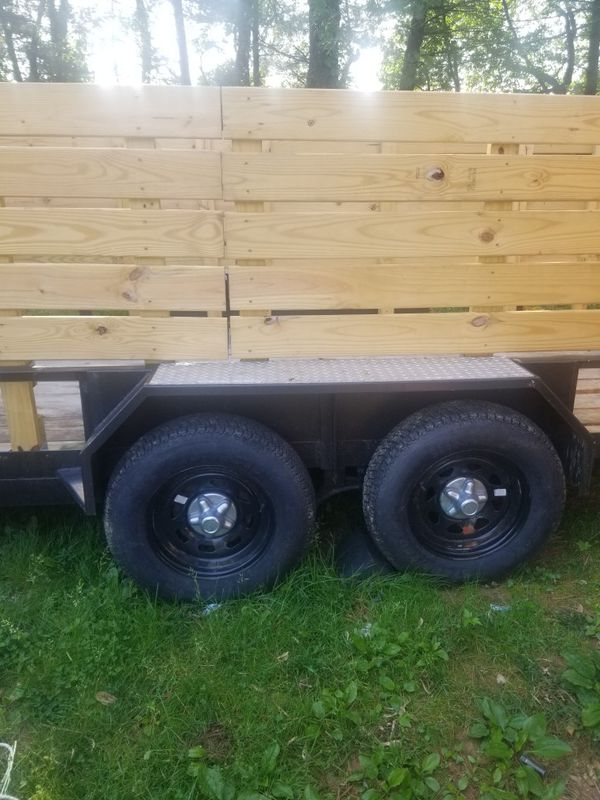 16ft heavy duty landscape/utility trailer