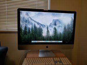 27 in iMac 2013 16gig ram for Sale in Fairfax, VA