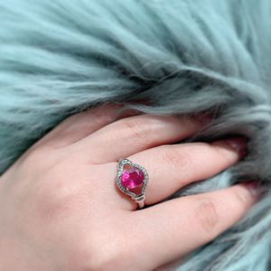 Natural Rubies Ring + Earrings (New Piece)+ FREE GIFT for Sale in Los Angeles, CA