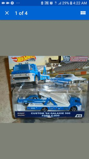 Hot wheels team transport ford galaxie for Sale in Toledo, OH