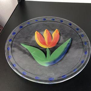 Kosta Boda Tulip Platter for Sale in Encinitas, CA