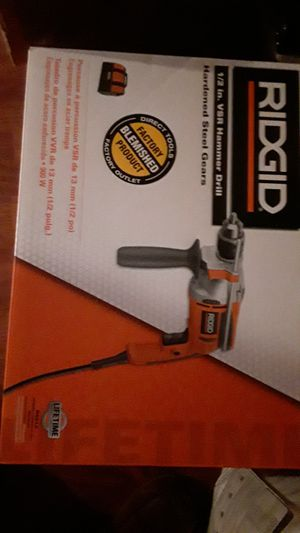 Eléctric hammer drill ridgid 1_2 in vsr for Sale in Crestwood, IL