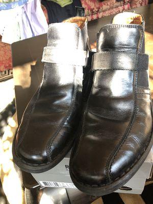 Josef Seibel Men's black Leather Boots / Shoes Size 10 for Sale in Marietta, GA