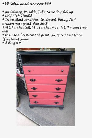 Dresser for Sale in Dinuba, CA
