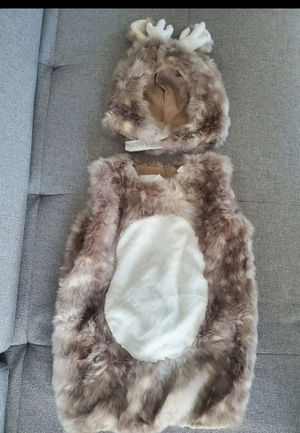 New without tags Pottery barn kids woodland deer costume size 4-6yrs for Sale in Lynnwood, WA