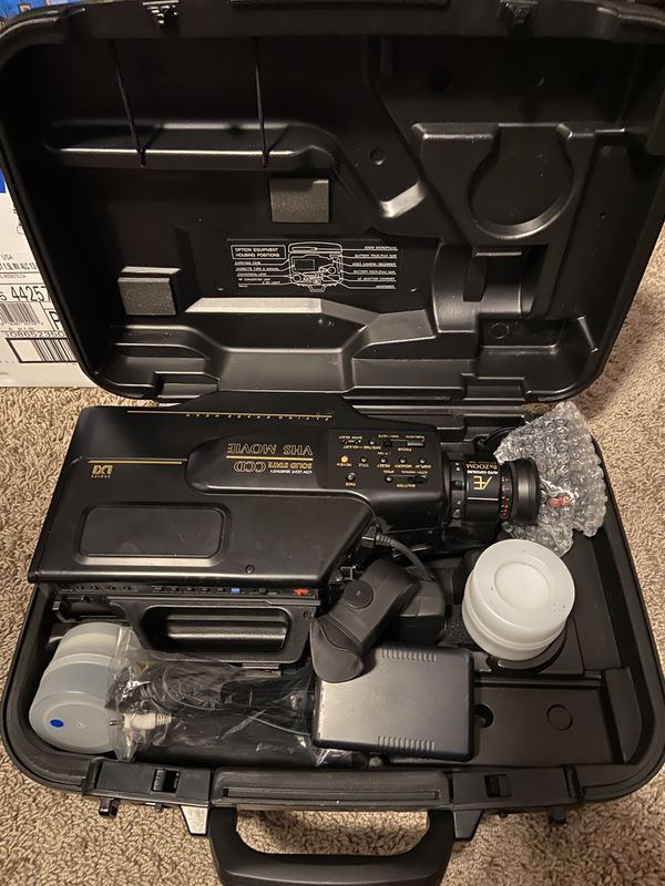 VHS Portable Camcorder with case