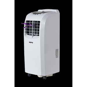 """NEPO NPP-A112C 6,500 BTU (12,000 BTU ASHRAE) 3 in 1 """"Compact Design"""" (Weighs only 53.5lbs) Portable AC with Dehumidifier, Fan and Remote Control for Sale in San Lorenzo, CA"""