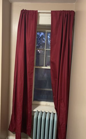 Burgundy Curtains for Sale in Quincy, IL