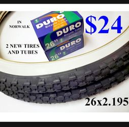 26x2.125 BIKE TIRES & TUBES NEW CASH ONLY IN NORWALK for Sale in Cerritos,  CA
