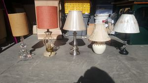 Lamps with Shades for Sale in Tracy, CA