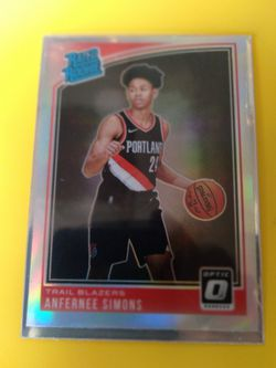 Anfernee Simon's RATED ROOKIE REFRACTOR OPTIC DONRUSS for Sale in Salinas, CA
