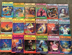 Original Goosebumps Book Collection for Sale in San Bruno, CA