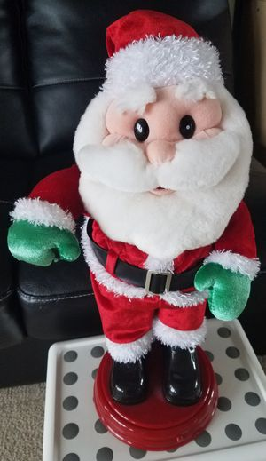 Dancing Santa Claus Doll for Sale in Lynnwood, WA