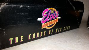 Elvis Presley collectables 2 box set pre owned cards for Sale in Shelby, OH