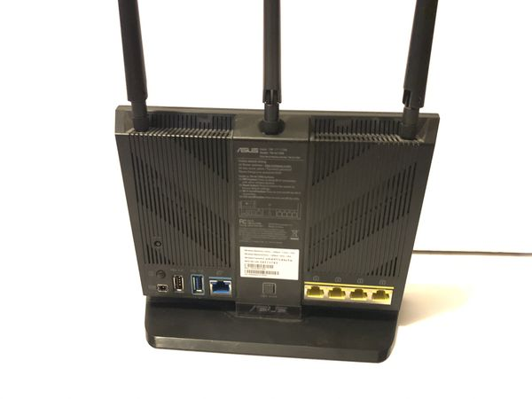 Asus AC1900 WiFi and router