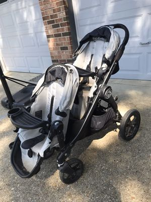 City select double stroller and accessories for Sale in Potomac, MD