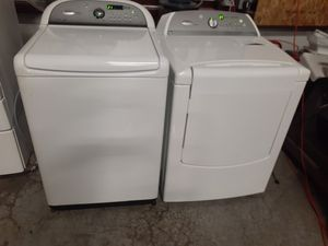 Huge Whirlpool cabrio washer dryer for Sale in Virginia Beach, VA