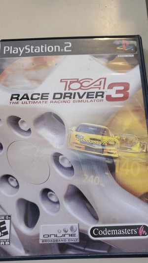 PS2 TOCA Race Driver 3 The Ultimate Racing Simulator for Sale in Phoenix, AZ
