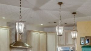 Three island pendants- light fixtures for Sale in Nashville, TN