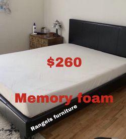 💥Brand new Blue Gel Memory Foam Mattress💥 Queen Mattress only-$260 Mattress & box spring-$320 Full Mattress only-$235 Mattress & box spring for Sale in Rosemead,  CA