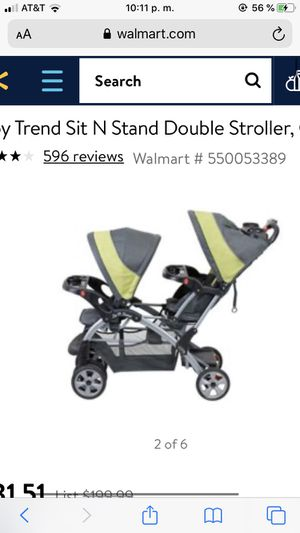 Baby double stroller not new but it's similar as the one in the picture for Sale in Vancouver, WA