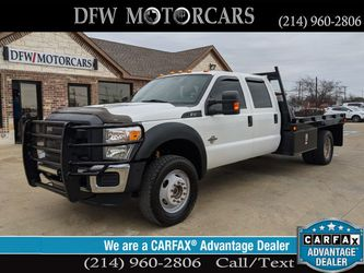 2015 Ford F450 Super Duty Crew Cab & Chassis for Sale in Grand Prairie,  TX