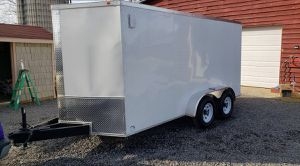 2018 Diamond Enclosed Trailer Excellent Condition for Sale in Los Angeles, CA