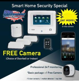 $0 Brand new Security Systems, 3 cameras, Pro installation for Sale in Cleveland, OH