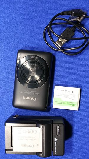 Canon PowerShot SD1400IS Digital Camera for Sale in Fort Worth, TX