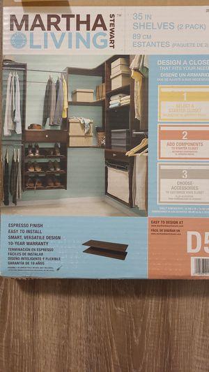 Unopened Martha Stewart Shelves 2pack $15 OBO for Sale in Orlando, FL