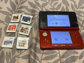 Nintendo 3DS With 6 Games for Sale in Rockville,  MD