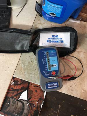 Megohm Meter (HVAC specialty tool {test motor windings}) for Sale in Inverness, FL
