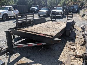 16 foot equipment trailer for Sale in Kent, WA