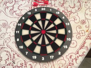 Dart Board. With stand, and 6 arrows. for Sale in Sebring, FL