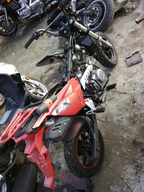 Motor cycle Fx bd 125-1
