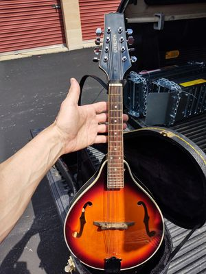 8 string savannah mandolin with case and strap for Sale in Columbia, MD