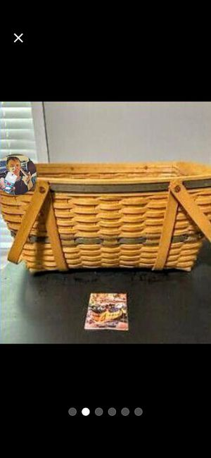 Longaberger Basket for Sale in Queen City, TX
