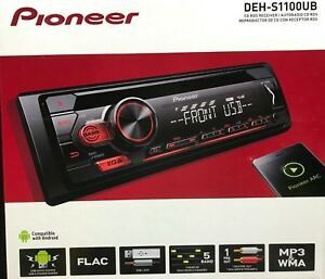 Pioneer DEH-S4100BT Bluetooth CD Receiver for Sale in Fort Lauderdale, FL